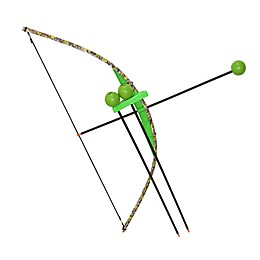 Indoor/Outdoor Bow and Arrow Set