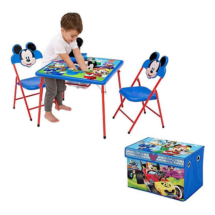 Alternate image 1 for Delta Children Disney® Mickey Mouse 4-Piece Kids Furniture Set