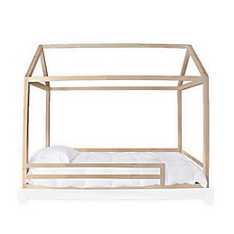 Nico & Yeye Domo Twin Canopy Bed with Rails