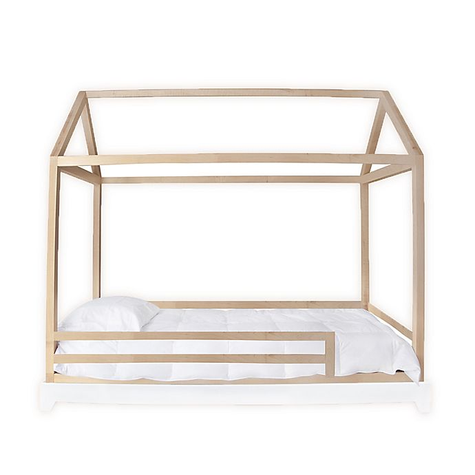 Alternate image 1 for Nico & Yeye Domo Twin Canopy Bed with Rails