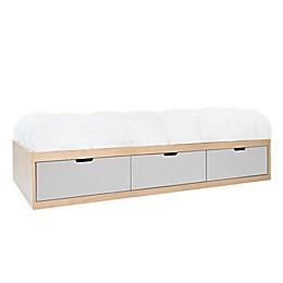 Nico & Yeye Zen Twin Platform Bed with Storage