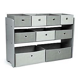 Humble Crew Fabric Multi-Bin Toy Organizer with 9 Storage Bins