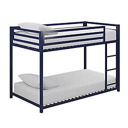 Miles Twin Over Twin Metal Bunk Bed