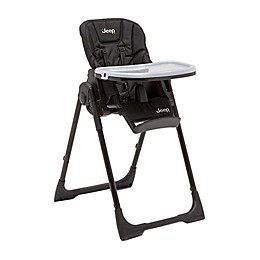 Jeep® Classic Convertible High Chair in Midnight Black