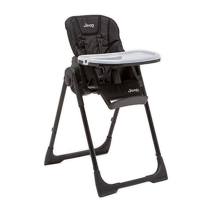 Alternate image 1 for Jeep Classic Convertible High Chair in Midnight Black by Delta Children