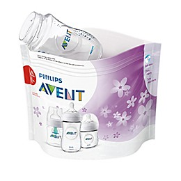 Philips Avent 12-Pack Microwave Steam Sterilizer Bags in Clear