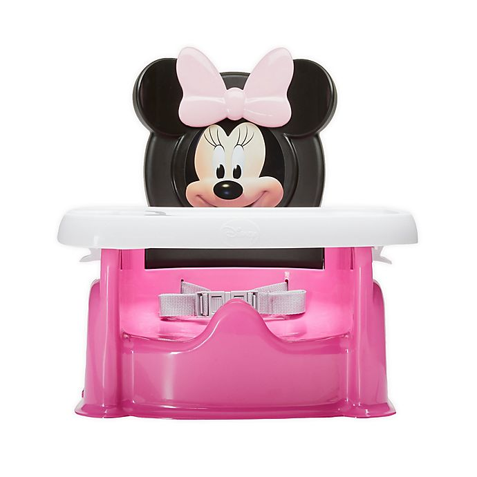 Alternate image 1 for The First Years™ Disney® Minnie Mouse ImaginAction Mealtime Booster Seat in Pink