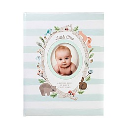 C.R. Gibson Woodland Animals Memory Book in Blue