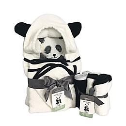 Panda Baby 8-Piece Bath Towel Set