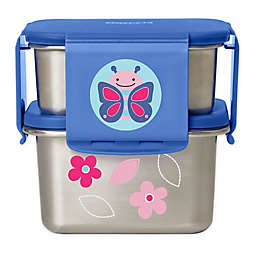 SKIP*HOP® Butterfly 2-Piece Stainless Steel Lunch Kit