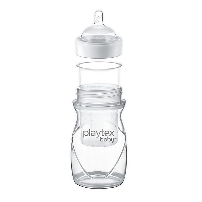 Alternate image 1 for Playtex Baby™ Nurser® Wide-Neck Natural Bottle