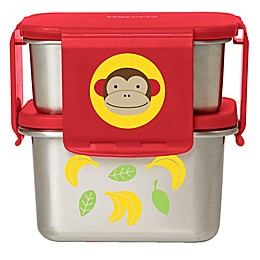 SKIP*HOP® Monkey 2-Piece Stainless Steel Lunch Kit