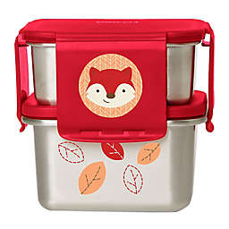SKIP*HOP® Zoo® Fox Stainless Steel Lunch Container Kit in Red