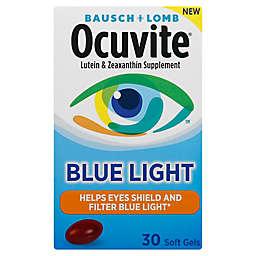 Bausch + Lomb Ocuvite® Blue Light 30-Count Lutein and Zeaxanthin Supplement Soft Gels