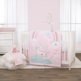 Little Love by NoJo® Rainbow & Unicorn Whimsy Nursery Bedding Collection