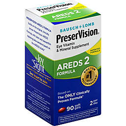 Bausch + Lomb PreserVision® 90-Count Areds 2 Eye Vitamin and Mineral Soft Gels