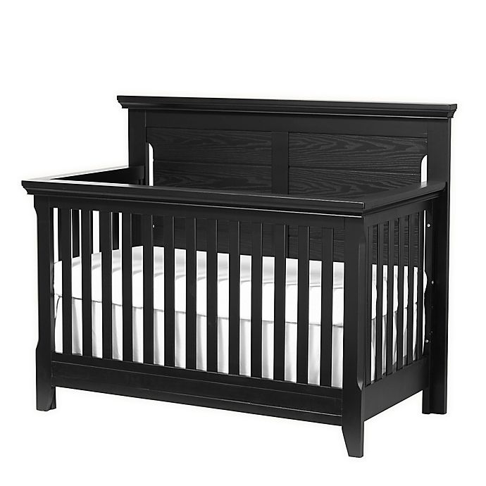 Alternate image 1 for Baby Caché Overland 4-in-1 Convertible Crib in Black