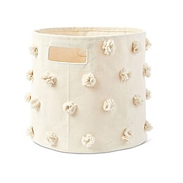 Pom Pom Storage Bin in Natural