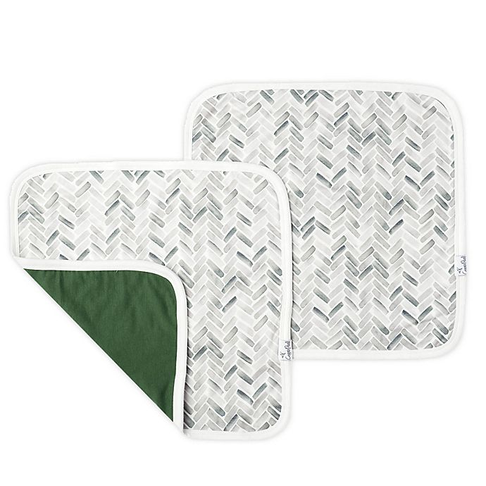 Alternate image 1 for Copper Pearl Alta Security Blankets (Set of 2)