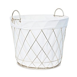 Taylor Madison Designs® Diamond Weave Wire Floor Bin