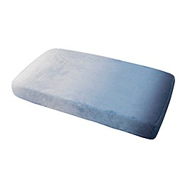 just born® Dream Ombre Changing Pad Cover in Blue