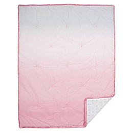 just born® Dream Ombre Quilt in Pink