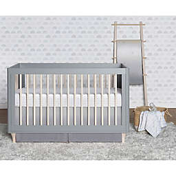 just born® Dream Ombre Crib Bedding Set in Grey