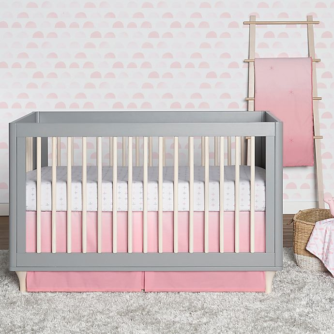 Alternate image 1 for just born® Dream Ombre Crib Bedding Set in Pink
