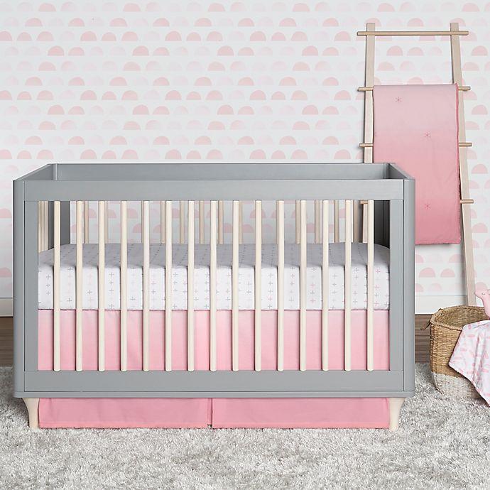 Just Born Crib Skirt Navy
