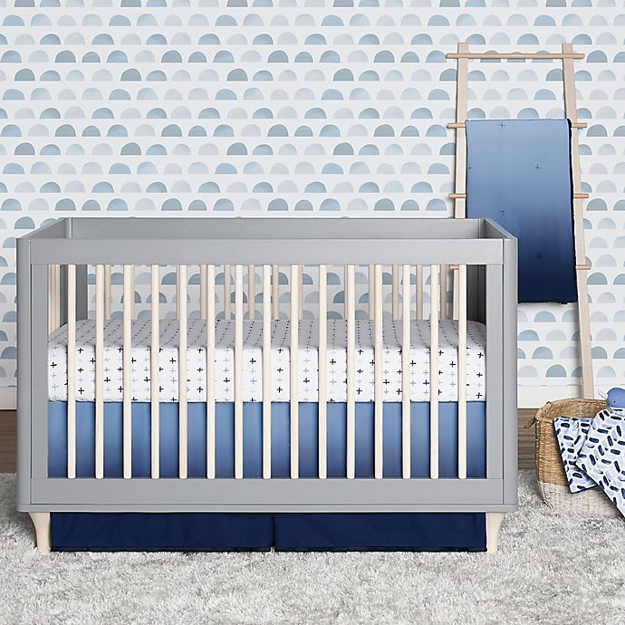 Alternate image 1 for just born® Dream Ombre Crib Bedding Set in Blue