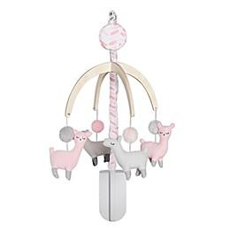 just born® Dream Ombre Llama Mobile in Pink