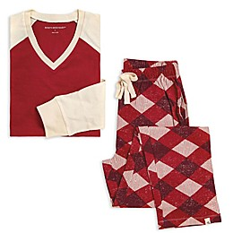 Burt's Bees Baby® Men's 2-Piece Abstract Argyle Organic Cotton Pajama Set