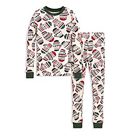 Burt's Bees Baby® Merry Mittens Big Kids 2-Piece Organic Cotton Pajama Set