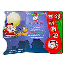 Disney Baby® Christmas Little Music Note Book