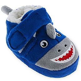 "<div class=""gwt-Label"">Capelli New York Shark Slipper in Navy</div>"