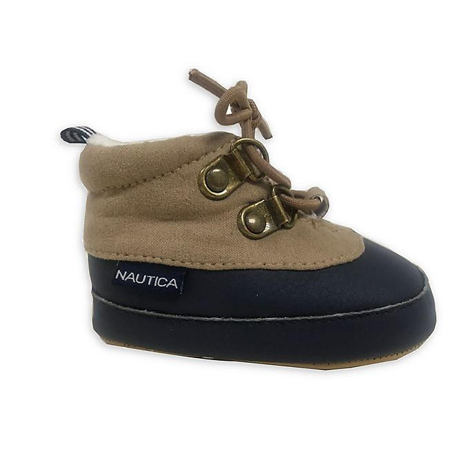 Alternate image 1 for Nautica® Duck Boot in Tan/Navy
