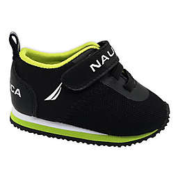 Nautica® Athletic Shoe in Black/Lime