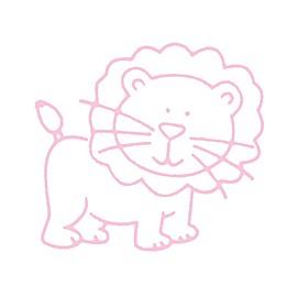 Glenna Jean Bella & Friends Lion Wall Decal