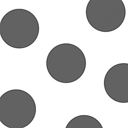 Glenna Jean Bella & Friends Dots Wall Decals in Grey (Set of 4)
