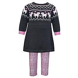 Blueberi Boulevard 2-Piece Unicorn Sweater and Legging Set