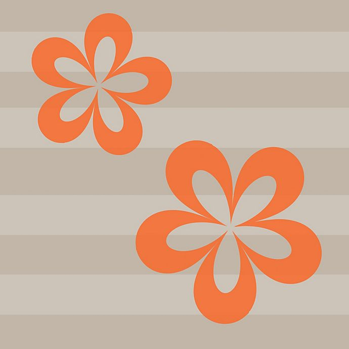 Alternate image 1 for Glenna Jean Echo Flower Wall Decals (Set of 2)