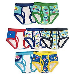 Pink Fong 7-Pack Baby Shark Toddler Briefs