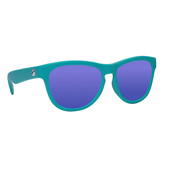 Alternate image 1 for Minishades Polarized® Baby Sunglasses in Teal