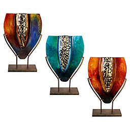 Jasmine Art Glass Teardrop Glass Vase Collection