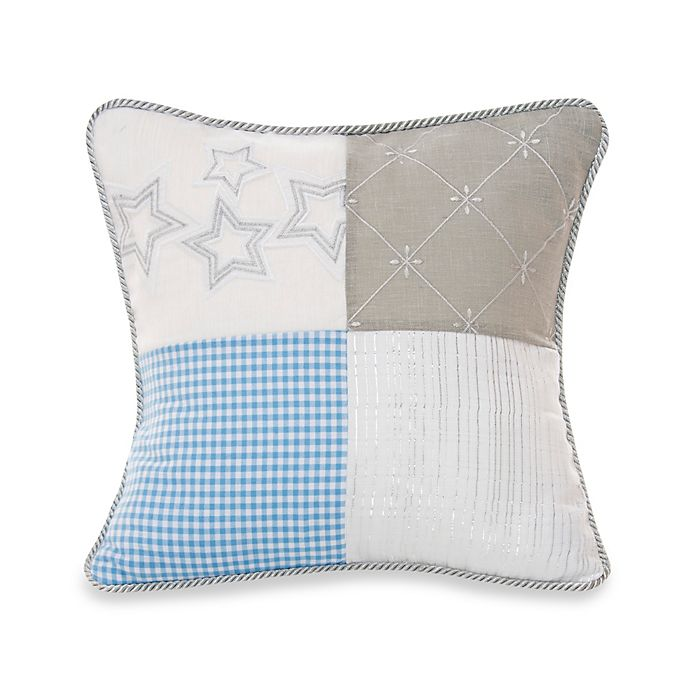 Alternate image 1 for Glenna Jean Starlight Patch Throw Pillow