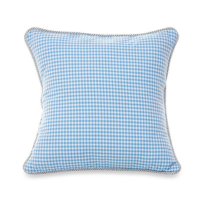 Alternate image 1 for Glenna Jean Starlight Gingham Throw Pillow