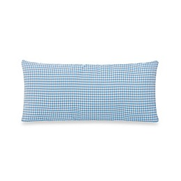 Glenna Jean Starlight Rectangular Gingham Throw Pillow