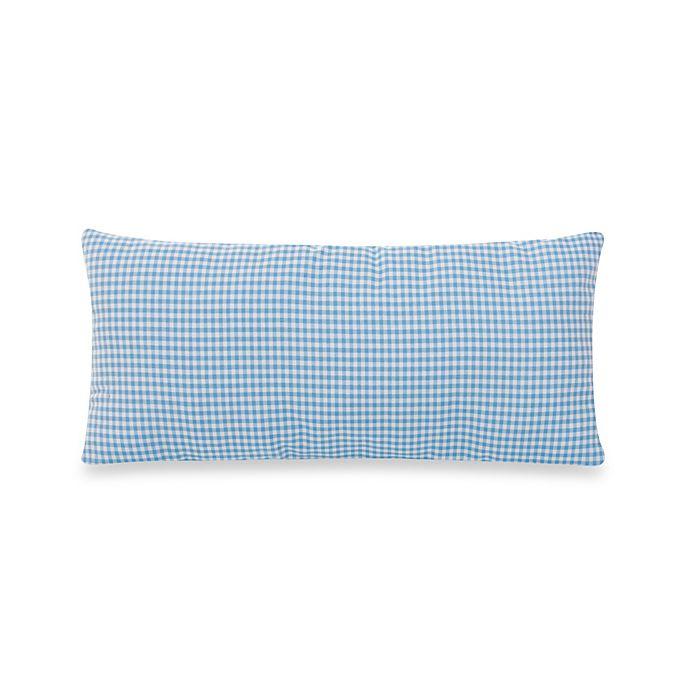 Alternate image 1 for Glenna Jean Starlight Rectangular Gingham Throw Pillow