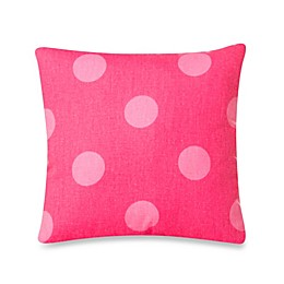 Glenna Jean Addison Polka Dot Pillow in Pink