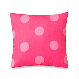 Glenna Jean Addison Polka Dot Pillow in Pink